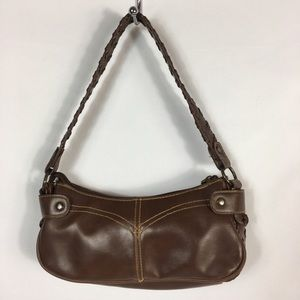 Levi Strauss Women's Brown Faux Leather Bag Purse